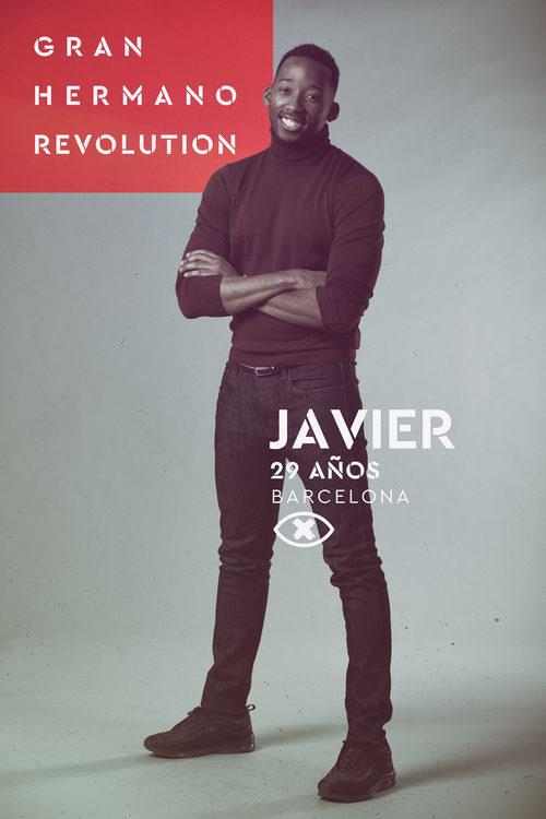 Javier Eneme, en la imagen promocional de 'GH Revolution'
