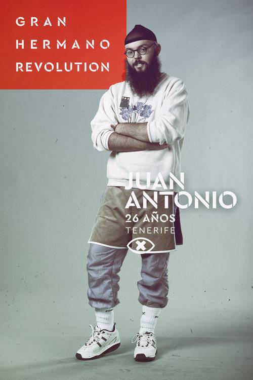 Juan Antonio Labory, en la imagen promocional de 'GH Revolution'