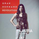 Laura Velasco, en la imagen promocional de 'GH Revolution'