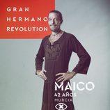 Maico Barzagui, en la imagen promocional de 'GH Revolution'
