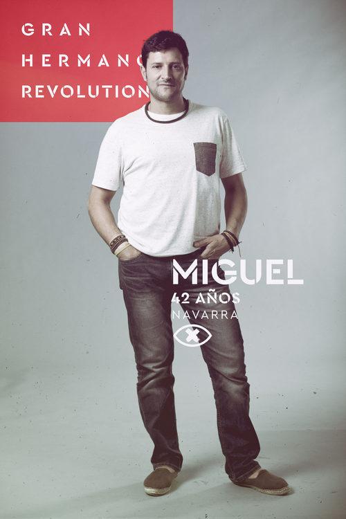 Miguel del Villar, en la imagen promocional de 'GH Revolution'