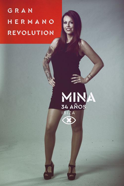 Mina Navarro, en la imagen promocional de 'GH Revolution'