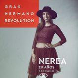 Nerea Montaraz, en la imagen promocional de 'GH Revolution'