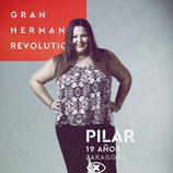 Pilar Marcellán, en la imagen promocional de 'GH Revolution'