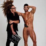 Torito posa con Suso Álvarez ('GH 16') totalmente desnudo