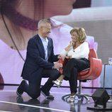 Jordi González y María Teresa Campos en 'GH Revolution: El debate'