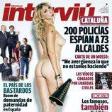 Aran Aznar, desnuda en Interviú