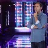Raúl Pérez, concursante de 'Tu cara me suena 6', en el nuevo plató