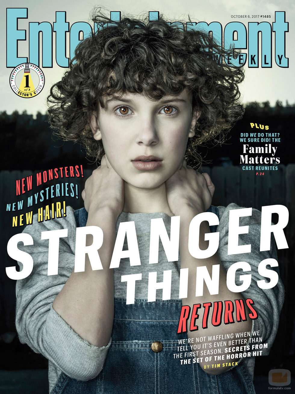 Millie Bobby Brown posa en la portada de la revista Entertainment Weekly