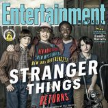 Los jóvenes actores de 'Stranger Things' posan para Entertainment Weekly