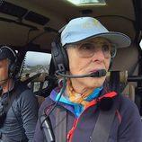 Jesús Calleja y Mercedes Milá, en helicóptero en 'Volando voy'