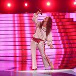 Ruth Lorenzo cantando en la primera gala de 'Tu cara me suena 6'