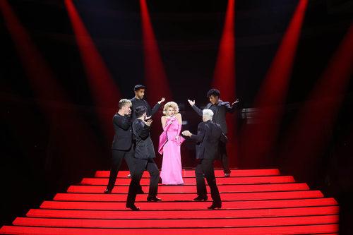 Angy se viste de Madonna en la primera gala de 'Tu cara me suena6'