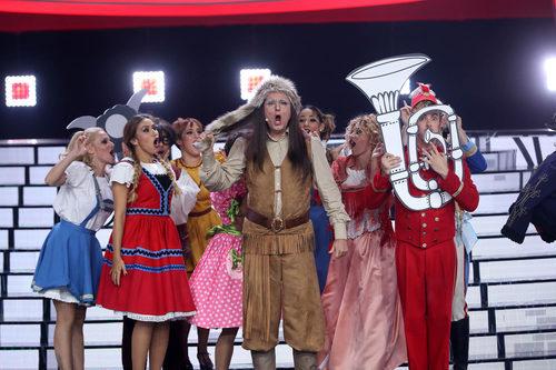 Raúl Pérez, de 'Tu cara me suena 6', imita a Rosa León