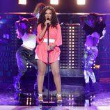 Diana Navarro, de 'Tu cara me suena 6', imita a Kelly Rowland en la primera gala