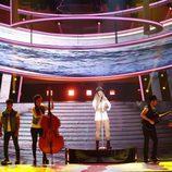 Lucía Gil se pone el sombrero en su imitación a Miley Cirus en 'Tu cara me suena 6'