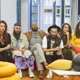 Los concursantes miran con atención en la gala 3 de 'GH Revolution'