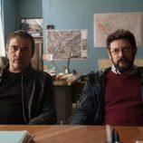 Manolo Solo y Eduard Fernández en 'La zona'