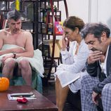 Coque desnudo con los padres de Nines en la 10ª temporada de 'La que se avecina'