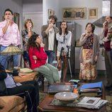 Los vecinos de Montepinar pensativos en la 10ª temporada de 'La que se avecina'