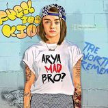 Arya Stark ('Juego de Tronos') posa totalmente transformada en una rapera
