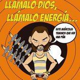 Ilustración de Fermín, de 'La que se avecina', por Pepe Alabarce