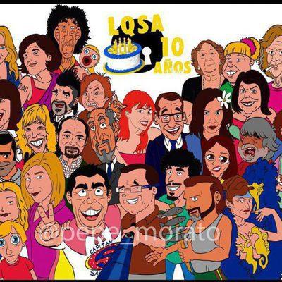 Caricaturas de los personajes de 'La que se avecina', por Pepe Alabarce