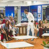 Hugo y Cristian Fernández enfrentados tras las nominaciones a la cara de la cuarta gala de 'GH Revolution'