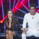 Hugo y Yolanda esperan conocer el nombre del expulsado en la cuarta gala de 'GH Revolution'