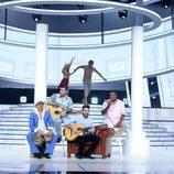 """David Amor interpreta a Melendi con """"Desde que estamos juntos"""" en 'Tu cara me suena'"""