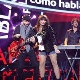 """Lucía Jiménez cantando """"Cómo hablar"""" como Amaral en 'Tu cara me suena'"""