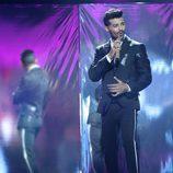 """Jorge González interpreta a Maluma con """"Felices los cuatro"""" en 'Tu cara me suena'"""
