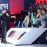 """Jorge González cantando """"Felices los cuatro"""" como Maluma en 'Tu cara me suena'"""