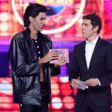 Fran Dieli, el ganador de la segunda gala de 'Tu cara me suena'