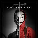 Pedro Alonso, Berlín en 'La Casa de Papel', protagoniza un póster de la temporada final