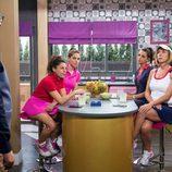 Bruno se presenta en el piso de Maite mientras ella está reunida con sus amigas en 'La que se avecina'