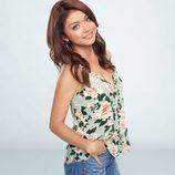 Sarah Hyland, protagonista de 'Modern Family' posando para la promoción de la novena temporada