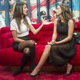 Petra, hablando sobre lo que siente por Cristian Fernández con su novia en 'GH Revolution'