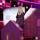 Lucía Jiménez es Katy Perry en la gala 3 de la sexta edición de 'Tu cara me suena'