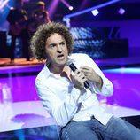 Raúl Perez cantando en su imitación al vocalista de M-Clan en 'Tu cara me suena'