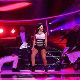 """Lucía Gil baila al ritmo de """"Mayores"""" como Becky G en la tercera gala de 'Tu cara me suena 6'"""