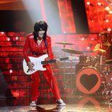 Beatriz Rico, como artista invitada, da el toque de rock a la Gala 3 de 'Tu cara me suena'