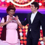 Diana Navarro gana la tercera gala de 'Tu cara me suena'