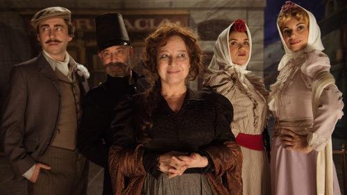 José Troncoso, Norma Ruiz y Eva Manjón en el episodio 32 de 'El Ministerio del Tiempo'