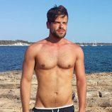 Ricky Merino, concursante de 'OT 2017', posa con su definido torso al desnudo