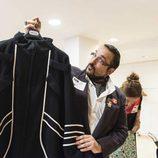 Un aspirante de 'Maestros de la costura' en el casting de Barcelona