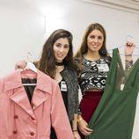 Dos jóvenes muestran sus creaciones en el casting de 'Maestros de la costura'