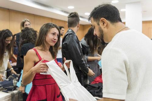 Aspirantes de 'Maestros de la costura' durante el casting
