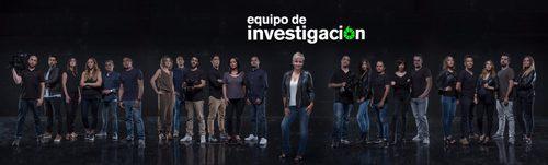 Gloria Serra junto a los reporteros de 'Equipo de investigación'