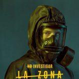 Álvaro Cervantes como Martín Garrido en los carteles de 'La Zona'